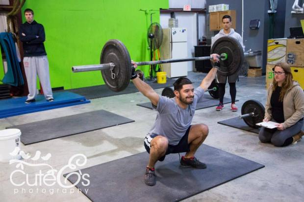 OHS with Athlete Yurian U. at CrossFit Chronic