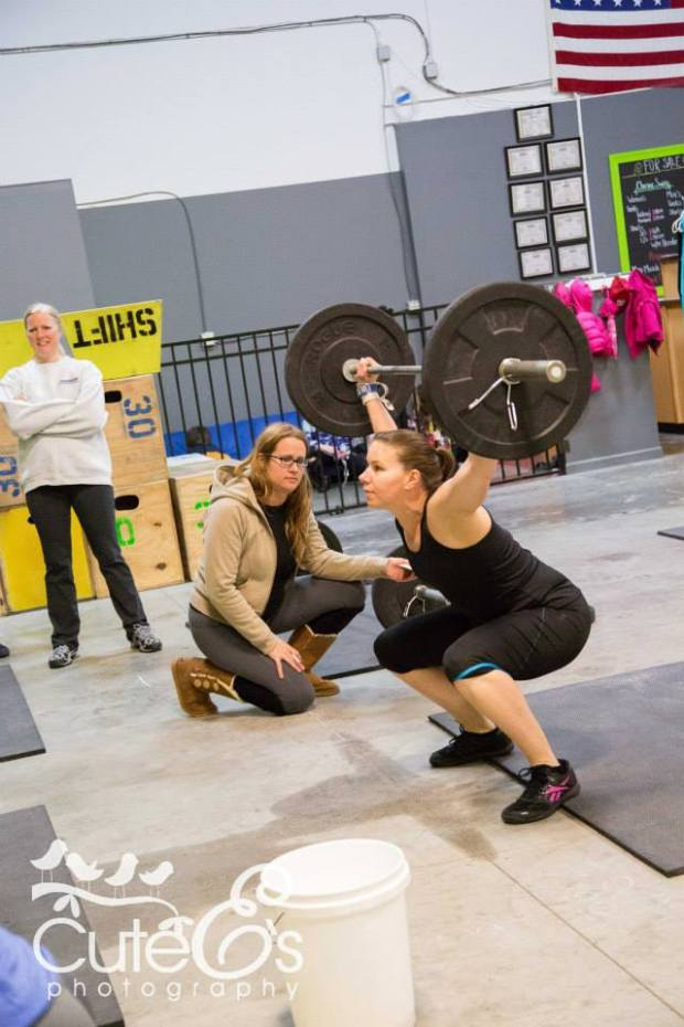 CrossFit Open Workout 14.2 at CrossFit Chronic. Athlete Anja L.