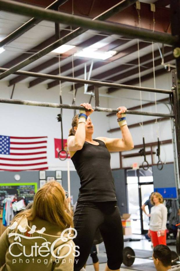 CF Open  Workout 14.2: Chest to Bar Pull-ups