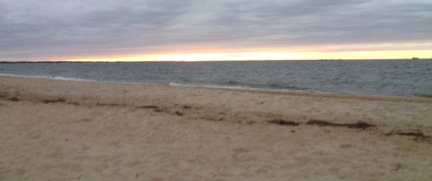 Sunset on the Chesapeake Bay. Summer 2013