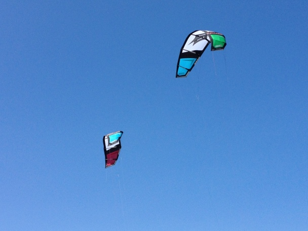 Kite Surfing. Summer 2013