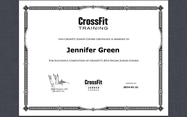The honor of judging athletes in the CrossFit Open is huge! It gives you the opportunity to help athletes reach goals and make improvements.