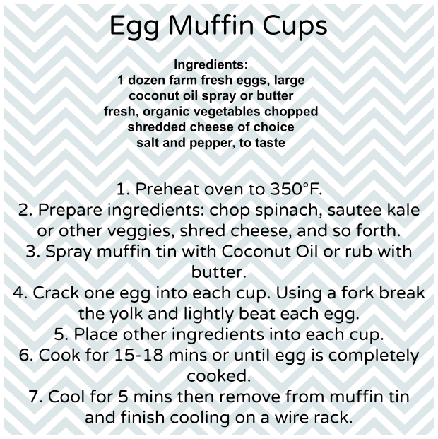 egg muffin cups recipe