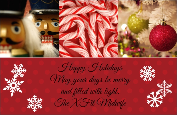 happy holidays collage