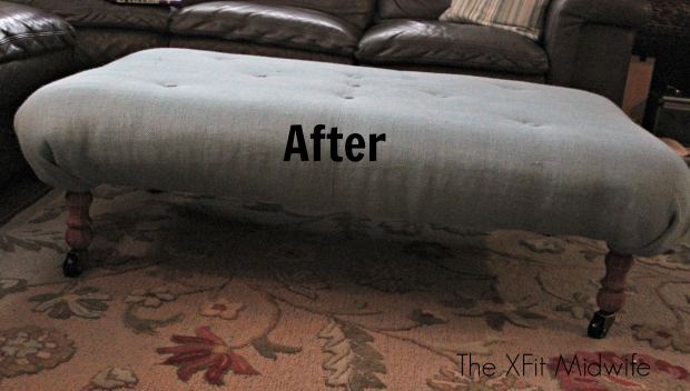 after photo ottoman