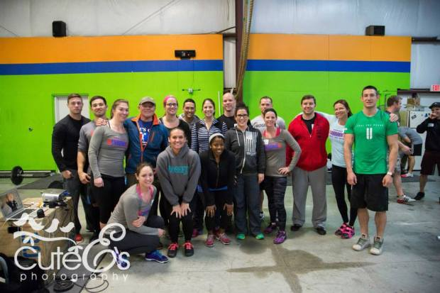 CrossFit Weightlifting Seminar Staff and CrossFit Chronic Coaches and Members.