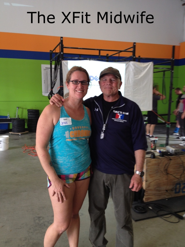 Coach Mike Burgener and I at CrossFit Chronic.