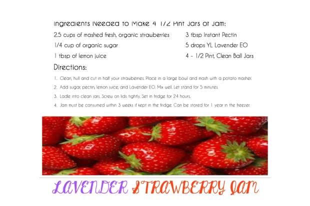 Lavender Strawberry Jame